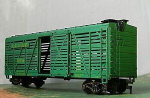 Athearn Stock Car RTR Rd# ATSF 50656 ~ Cast metal Spring loaded Trucks - HO