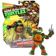 """Year 2016 Ninja Turtles TMNT Super Shredder Series 5"""" Figure SUPER NINJA RAPH"""