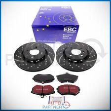 EBC für VW G60 Bremse Sportbremse Turbo Groove Bremsscheiben Carbon Beläge vorne