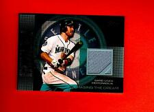 2013 Topps Chasing The Dream Relics #CDR-DA Dustin Ackley seattle mariners card