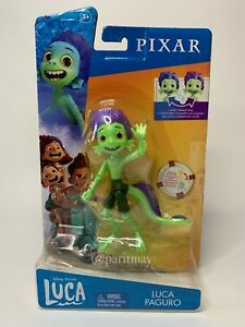 """Disney Pixar Luca 6"""" Posable Figure With Color Change And Removable (SHIPS NOW)"""