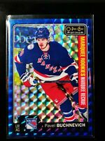 Pavel Buchnevich - 2016-17 O-Pee-Chee Platinum Royal Blue Cubes /99 #167 Rookie