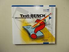 learnkey, Test: Bench; wissensprüfung pour Word 97, #k-1-7