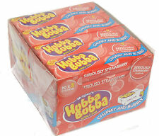 Hubba Bubba Chewing Bubble Gum Strawberry Flavour 20 x 5 Packs