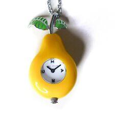 $150 MJ6003 Marc Jacobs Baubles Fruit Pear Pendant Necklace watch