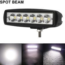 "2x 6"" inch Slim Single Row LED Work Light Bar Spot For Suzuki DRZ 400 Motorcycle"