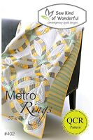 Metro Rings Quilt Pattern ~ Sew Kind of Wonderful ~ uses QCR Quick Curve Ruler