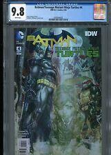 Batman/TMNT #4   (1st Print)  VHTF   CGC 9.8  WP