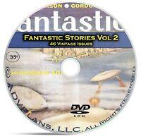 Fantastic Science Fiction, Vol 2, 46 Classic Pulp Magazine, Golden Age DVD C50