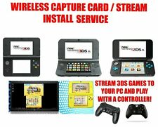 Nintendo New 3DS 2DS XL Streaming Wireless Capture Card Plays 3DS/2DS Games