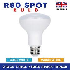 R80 LED Bulb Reflector Light Bulbs Warm White/Cool Light Edison Screw Light Bulb