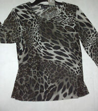 Women's Hand-wash Only Animal Print 3/4 Sleeve Sleeve Tops & Blouses