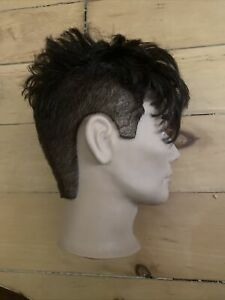 Pivot Point  Mannequin Man Head Samuel With Human Hair- USED Trimmed