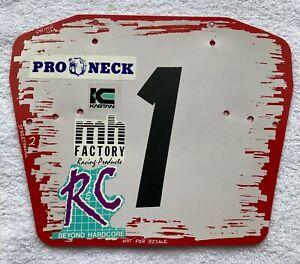 Old School BMX PRIME Number Plate