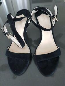 Witchery Black Heels - Size 37