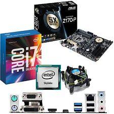 INTEL Core i7 6700K 4.0Ghz & ASUS Z170-P - Paquete de CPU Motherboard &
