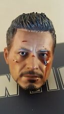 Hot Toys MMS209 Ironman 3 Mechanic Tony Stark 1/6 action figure's head sculpt
