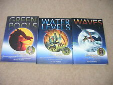 Umbrij Books 1,2 & 3 by Peter Parks PB Green Pools, Water Levels & Waves fantasy