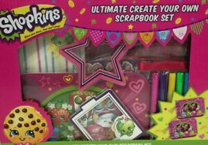 Shopkins Ultimate Create Your Own Scrapbook Set Ages 6+  BRAND NEW SEALED