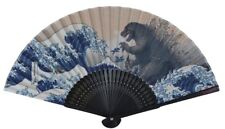 NEW forcart 8510 JAPANESE FOLDING FAN SENSU GODZILLA × UKIYOE from JAPAN
