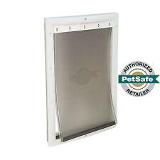 PetSafe Premium Plastic Pet Door White, Large Ppa00-10960