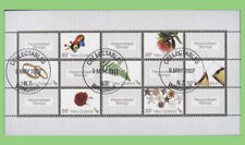 New Zealand 2007 Personalised Stamps mini sheet used