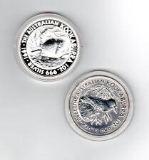 Kookaburra 1990 - 2017 Set je 1 Oz Silber - 28 Münzen