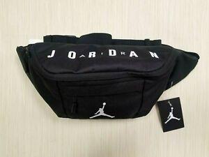 Nike Air Jordan Jumpman Crossbody Fanny Pack Black Shoulder Waist Bag Adjustable