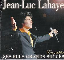 CD DIGIPACK 14T JEAN LUC LAHAYE SES PLUS GRANDS SUCCES EN PUBLIC NEUF SCELLE