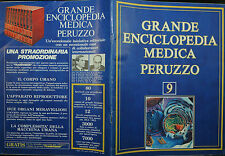 GRANDE ENCICLOPEDIA MEDICA PERUZZO N°9 / 1978