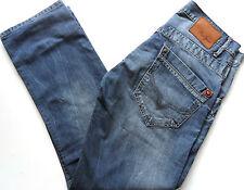 "pepe jeans herren tooting regular fit straight leg denim mittelblau w 30"" - 34"""