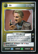 STAR TREK CCG TROUBLE WITH TRIBBLES RARE CARD ODO