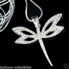 Dragonfly made with Swarovski Crystal Bridal Bridesmaid Wedding Necklace Jewelry