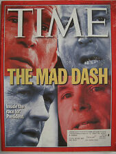 TIME MAGAZINE JANUARY 31 2000 INSIDE THE RACE FOR PRESIDENT..THE MAD DASH