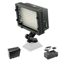 Pro 1 LED video light + NP-F970 battery for Panasonic HMC80 HPX370 AF100 HD DV