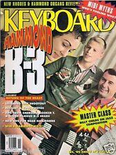 1991 Keith Emerson Booker-T Hammond B-3 B3 XB-2 RHODES VK-1000 Keyboard Magazine