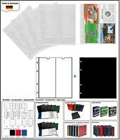 10 LOOK 312944 MÜNZHÜLLEN NUMOH NH-2VC 2x  210x81mm + ZWL-S Für Münzfolder