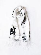Silk Print Women/men Silk scarf pure silk chic design