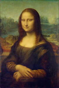 Leonardo da Vinci Mona Lisa Giclee Art Paper Print Poster Reproduction