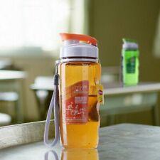 Cover Lip Sports Bottle Drinkware Bottles Plastic Water Filter Portable Drinking
