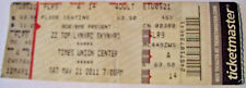 Zz Top & Lynyrd Skynyrd 2011 Concert Ticket Stub Times Union Center 5/21/2011