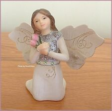 """AUGUST MONTHLY ANGEL FIGURINE 3"""" HIGH BY PAVILION ELEMENTS FREE U.S. SHIPPING"""
