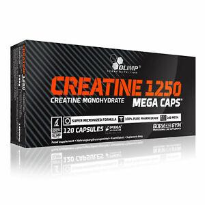 Olimp Creatine Mega 1250 Caps 120 Kapseln Creatin Kreatin Monohydrat