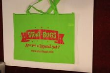 Promo Book Gift Tote Bag Swag Stunt Bugs Game Apple App Nook Google Play Green