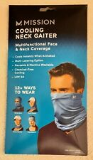 BLUE Mission Cooling Neck Gaiter Multifunctional Neck And Face Covering