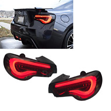 Toyota 86 BRZ FRS LED Tail Lights Valenti Sequential Signal Smoke USDM 13-20