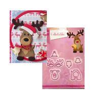 Christmas Eline's Reindeer Metal Die Cut Set Marianne Cutting Dies COL1369