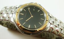 Lassale by Seiko Two-Tone Stainless 18KT 7N29-6730 Sample Watch NON-WORKING