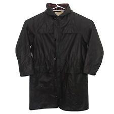 Skellerup Vintage Men's Wax Coated Rain Coat Wet Weather Jacket SIZE M Aus Made