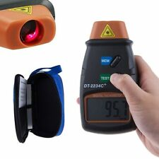 Digital Laser Photo Tachometer Non Contact RPM Tach Meter Motor Speed Gauge US